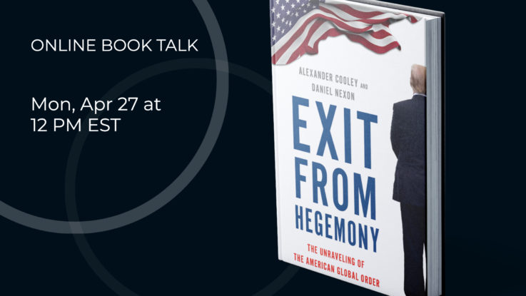 exit from hegemony book talk