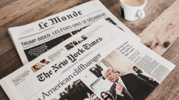 nytimes cover, click leads to more info about event